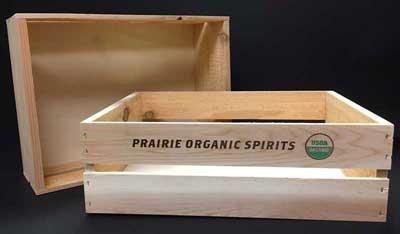 Prairie Organic Spirits - Crate by WDI